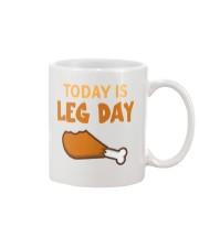 Today is Leg Day Mug thumbnail