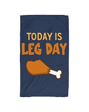 Today is Leg Day Hand Towel thumbnail