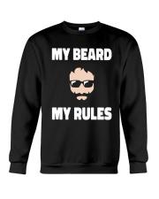 My beard My rules Crewneck Sweatshirt thumbnail