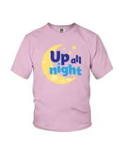 Up All Night Youth T-Shirt front
