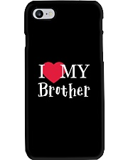 I Love My Brother Phone Case thumbnail