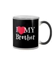 I Love My Brother Color Changing Mug thumbnail