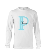 Elegant P Long Sleeve Tee front