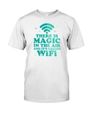 There is magic in the air and it's called WiFi Premium Fit Mens Tee thumbnail