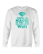 There is magic in the air and it's called WiFi Crewneck Sweatshirt thumbnail