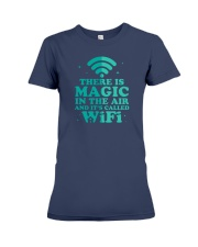 There is magic in the air and it's called WiFi Premium Fit Ladies Tee front