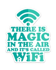 There is magic in the air and it's called WiFi Sticker - Single (Vertical) thumbnail