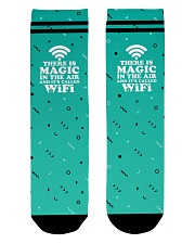 There is magic in the air and it's called WiFi Crew Length Socks thumbnail