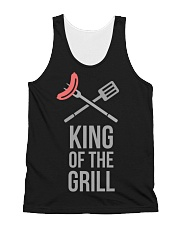King Of The Grill  All-over Unisex Tank thumbnail