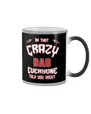 I'm That Crazy Dad Color Changing Mug thumbnail