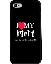 I Love My Mom - Yes She Bought This For Me Phone Case thumbnail