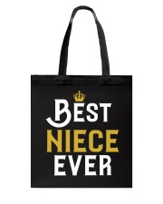 Best Niece Ever Tote Bag thumbnail