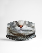 Orange nose cat Cloth face mask aos-face-mask-lifestyle-22