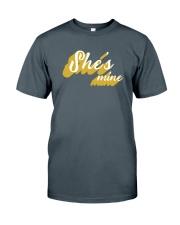 She's Mine - Couple's Design Classic T-Shirt front