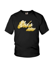 She's Mine - Couple's Design Youth T-Shirt thumbnail