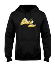She's Mine - Couple's Design Hooded Sweatshirt thumbnail