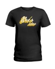 She's Mine - Couple's Design Ladies T-Shirt thumbnail