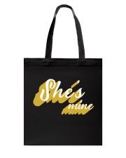 She's Mine - Couple's Design Tote Bag thumbnail