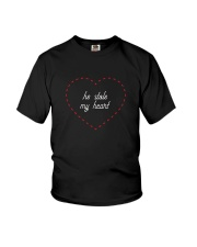 He Stole My Heart - Couple's Design Youth T-Shirt thumbnail