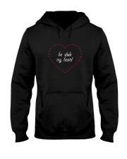 He Stole My Heart - Couple's Design Hooded Sweatshirt thumbnail