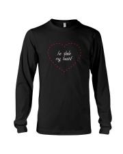 He Stole My Heart - Couple's Design Long Sleeve Tee thumbnail