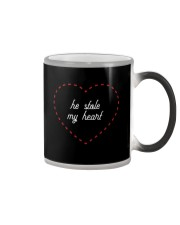 He Stole My Heart - Couple's Design Color Changing Mug thumbnail