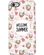 Welcome Summer Phone Case i-phone-8-case