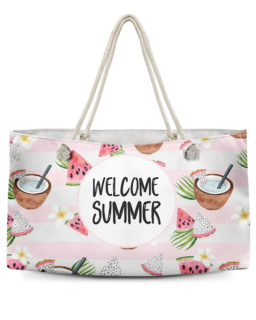 Welcome Summer Weekender Tote