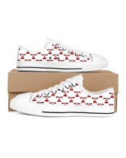 Chilling at Home Men's Low Top White Shoes thumbnail