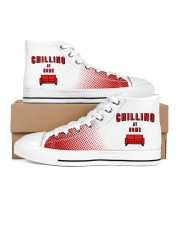 Chilling at Home Women's High Top White Shoes thumbnail