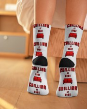 Chilling at Home Crew Length Socks aos-accessory-crew-length-socks-lifestyle-back-01