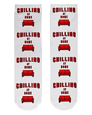 Chilling at Home Crew Length Socks front