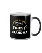 The Finest are Called Grandma Color Changing Mug thumbnail