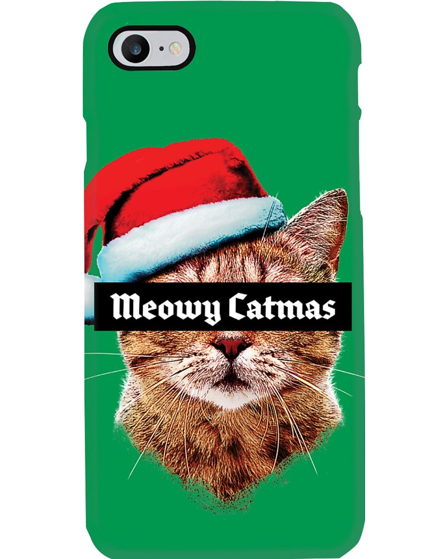 The big Meowy Catmas Phone Case