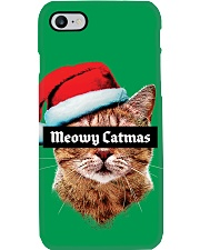 The big Meowy Catmas Phone Case i-phone-7-case