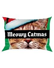 The big Meowy Catmas Rectangular Pillowcase thumbnail