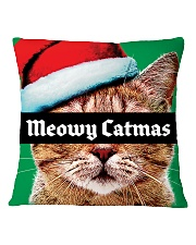The big Meowy Catmas Square Pillowcase tile