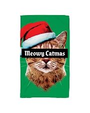 The big Meowy Catmas Hand Towel tile