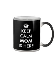 Keep Calm Mom is Here Color Changing Mug thumbnail