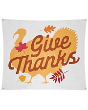 "Give Thanks Wall Tapestry - 104"" x 88"" thumbnail"