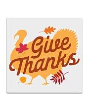 Give Thanks Square Coaster thumbnail