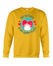 My Kitchen is my Happy Place Crewneck Sweatshirt thumbnail