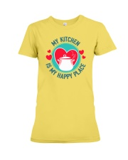 My Kitchen is my Happy Place Premium Fit Ladies Tee thumbnail
