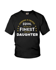 The Finest are Called Daughter Youth T-Shirt thumbnail