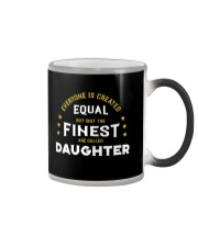 The Finest are Called Daughter Color Changing Mug thumbnail