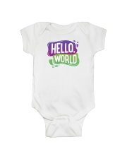 Hello World Onesie front
