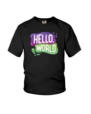Hello World Youth T-Shirt thumbnail