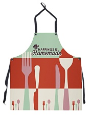 Happiness is Homemade Apron front