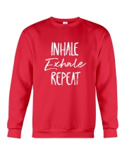 Inhale Exhale Repeat Crewneck Sweatshirt thumbnail