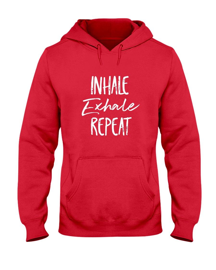 Inhale Exhale Repeat Hooded Sweatshirt